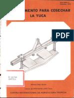 Un Implemento Para Cosechar La Yuca (Ciat)