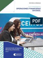 Operaciones Financieras en Excel