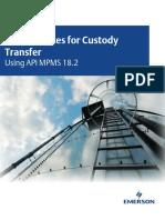 Best Practices for Custody Transfer Using API Mpms 18 2.Whitepaperpdf.render