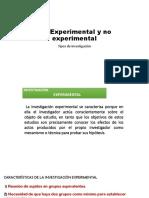 1.5 Experimental y No Experimental