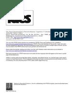 Faletti - Una Teoria Secuencial de La Descentralizacion