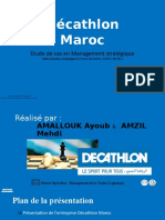 Présentation Décathlon Maroc