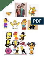 Stickers Simpsons