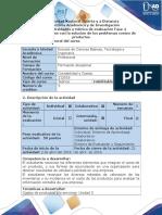 Guía de Actividades y Rúbrica de Evaluación - Fase 4 - Presentar Informe Con La Solución de Los Problemas Costeo de Productos