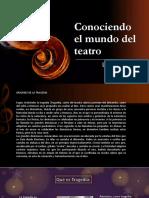 Conociendo El Mundo Del Teatro