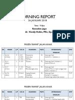 MORNING REPORT 26 - 01 - 18.pptx