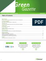 Green Gazette-SUMMER 2015