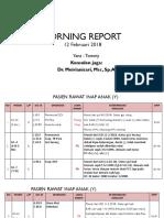 Morning Report 12-02-2018
