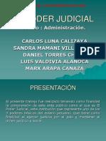 Administracion Poder Judicial