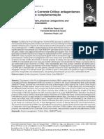 Práticas PMBOK e Corrente Crítica Antagonismos e Oportunidades de Complementação