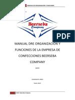Manual Dre Organización y Funciones