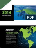 Catalogo de productos    AgLeader 2014