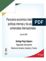Panorama Económico Internacional