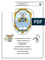 Niveles de Investigacion Informe