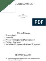 Polimer Komposit_kelompok I_kapita Selekta Polimer