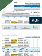 Programa Academico Preliminar Xviii Congreso 2018