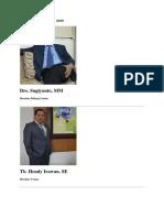 Direksi Periode 2015 PDAM Tirta Bekasi