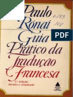 Paulo Rónai - Guia Prático de Tradução Francesa