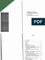 Cristian Arroyo Paradigmas en Disputa en La Pol Soc Arg