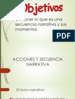 Acciones y Secuencia Narrativa