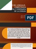 Ciencias Del Lenguaje, Competencia Comunicativa y Enseñanza