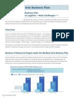 Medium-Term Business Plan