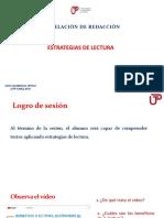 1A-Estrategias de Lectura (PPT) 2018-2