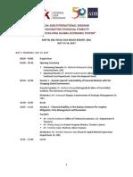 OJK Seminar Agenda