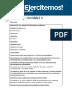 Actividad Práctica Integradora. Derecho Privado II