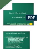 342584534 Desain Mine Hauling Road