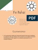 Fe Bahai Danae S- Francisca K- Francisca S