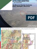 4 - Desc. y Geología Proy Encuentro - T. Swaneck - QPX Chile