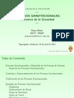 gravitacionales