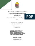 Analisis Sobre Indices de Situacion Financieras - Grupo #7