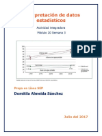 Interpretación de Datos Estadísticos