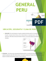 Clima General de Peru