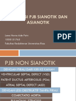 Etiologi Pjb Sianotik Dan Asianotik