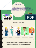Informacion Sociodemografica y Caracteristicas de Personalidad