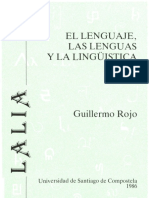 Lenguaje Lenguas Lgca