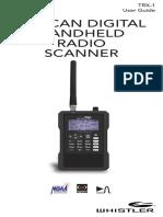 Whistler Trx 1 Scanner Radio Manual