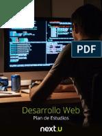 Plan-De-estudio Desarrollo Web NEXTU