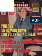 Piñerúa Ordaz, Luis-Derrotar la corrupción es consolidar el estado de derecho (Entrevista) [Revista Bohemia 1.485, 16 al 22 de marzo 1992)