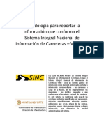 Metodología Reporte Resolución SINC - V09