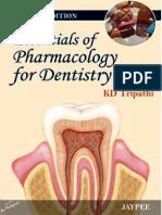 Dental Pharmacology Books Pdf