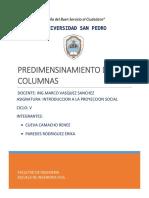 Predimensionamiento de Columnas (1)