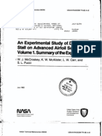 NASA TM84245 McCroskey An Experimental Study of Dynamics Tall on Advanced Airfoil Sections Vol01
