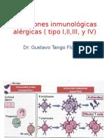 Tema 5 Reacciones Inmunológicas Alérgicas ( Tipo I,II,III, y