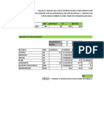 Calculo de Costos y Presupuestos