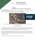 L'Histoire de l'Esclavage Des Berbères « Histoire Islamique