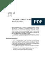 Introducción Al Analisis Cuantitativo